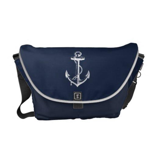 Anchor Messenger Bag