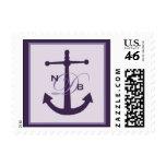 anchor monogram stamp