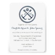 Anchor Monograms, Nautical Wedding Invitations by mgdezigns