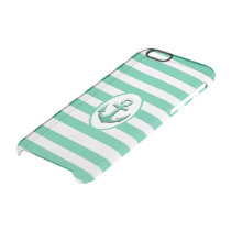 anchor nautical clear iPhone 6/6S case