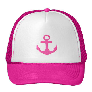 anchor nautical trucker hat