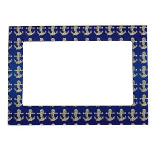 Anchor Navy Blue Magnetic Frame
