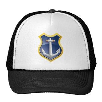 anchor navy ship trucker hat