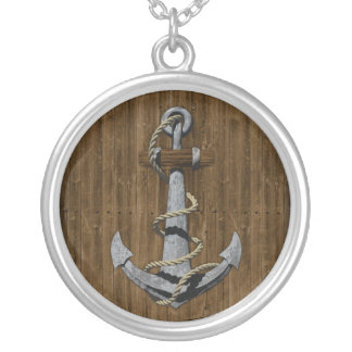 Anchor Personalized Necklace