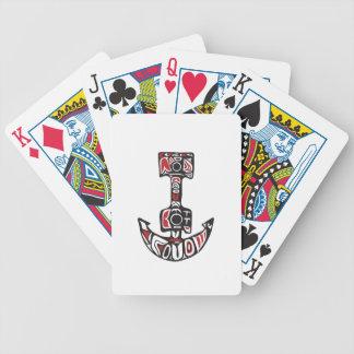 Anchor Northwest Coast Art Bicycle Playing Cards