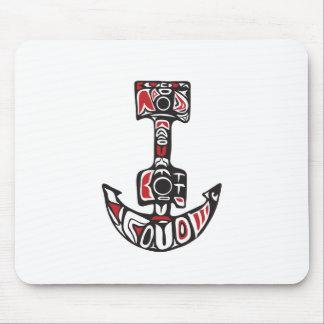Anchor Northwest Coast Art Mouse Pad