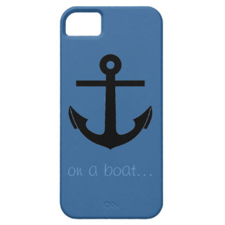 Anchor On A Boat iPhone 5 Case