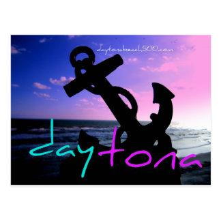 Anchor on Daytona Beach Postcard