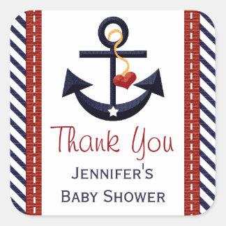 Anchor Party Favor Sticker Labels