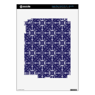 Anchor pattern iPad 3 skins