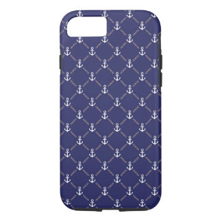 Anchor pattern iPhone 7 case