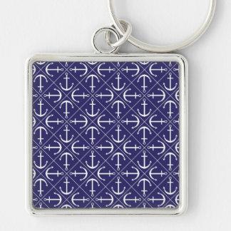 Anchor pattern keychain