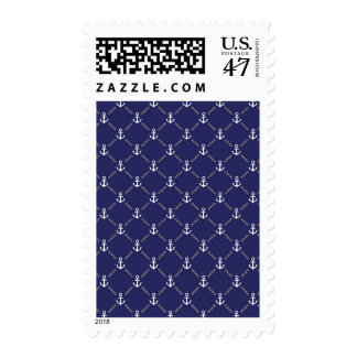 Anchor pattern postage