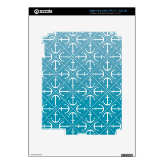 Anchor pattern skin for iPad 3