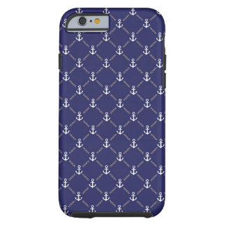 Anchor pattern tough iPhone 6 case