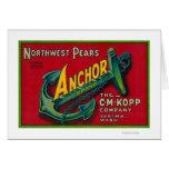 Anchor Pear Crate LabelYakima, WA