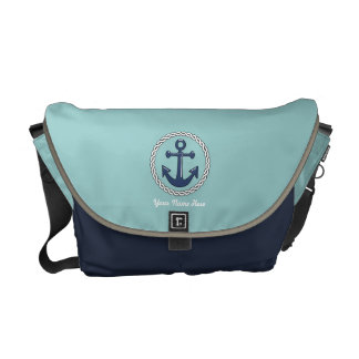 Anchor Personalized Medium Courier Bag