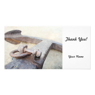 Anchor Personalized Photo Card