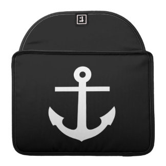 Anchor Pictogram MacBook Pro Sleeve