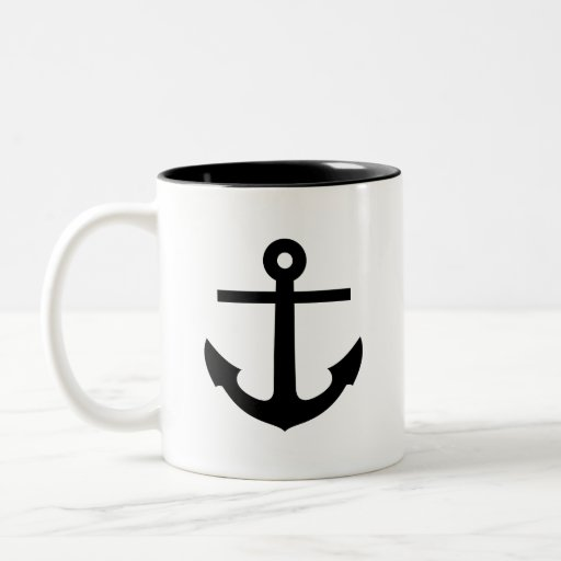 'Anchor' Pictogram Mug