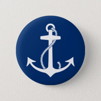 Anchor Pinback Button