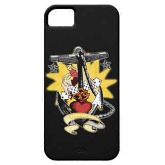 Anchor Pinup iPhone 5 Cases