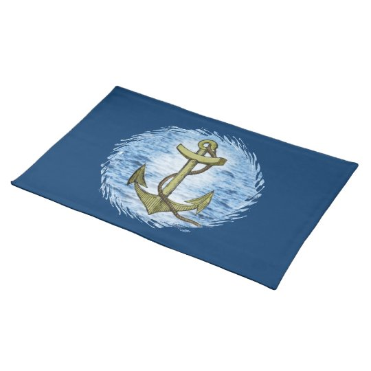 Anchor plain American MoJo Placemat