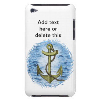 Anchor plain barely there iPod case