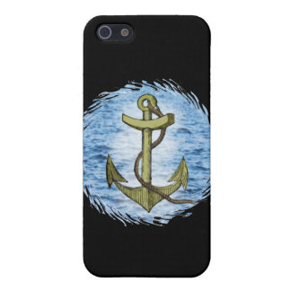 Anchor plain  case for iPhone SE/5/5s