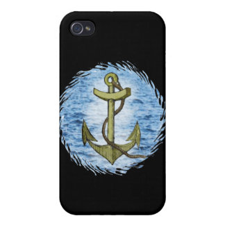 Anchor plain  iPhone 4/4S cover
