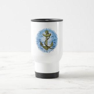 Anchor plain travel mug