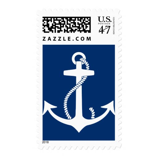 Anchor Postage Stamp