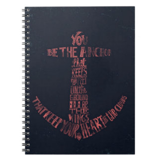 Anchor Quote Notebook