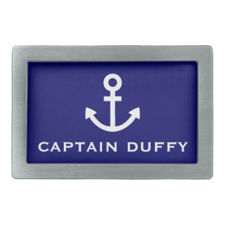 Anchor Rectangular Belt Buckle