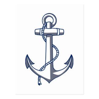 Anchor Save The Date Nautical Ocean Theme Wedding Postcard