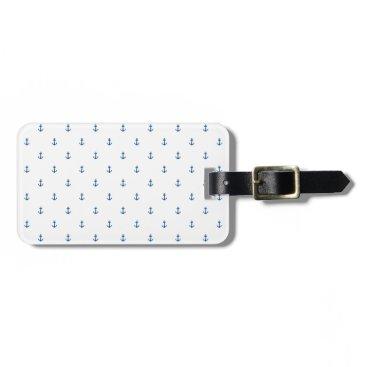 Anchor seamless texture bag tag
