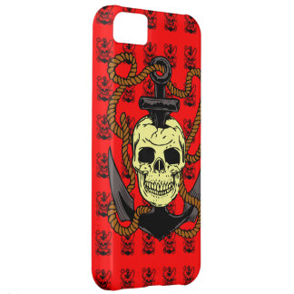 Anchor Skull Tattoo iPhone 5C Cover