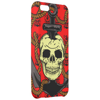 Anchor Skull Tattoo iPhone 5C Case