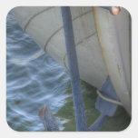 Anchor Square Sticker