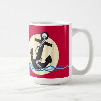 Anchor, Sun and Water Coffee Mug