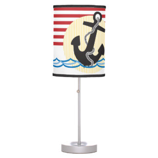 Anchor, Sun and Water Desk Lamp