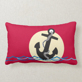 Anchor, Sun and Water Pillow