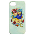 Anchor, Swallow and Roses iPhone 5 Covers