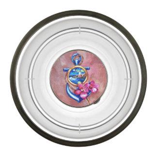 Anchor Tatoo Pet Bowl