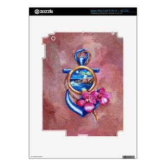 Anchor Tatoo iPad 3 Decals
