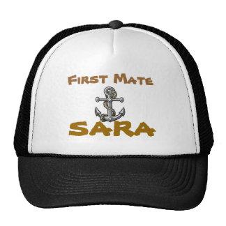 anchor-tattoo, First Mate, Sara Trucker Hat