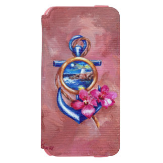 Anchor Tattoo iPhone 6/6s Wallet Case