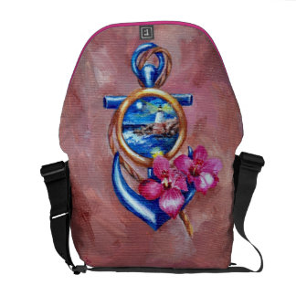 Anchor Tattoo Courier Bags