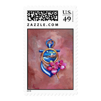 Anchor Tattoo Stamps