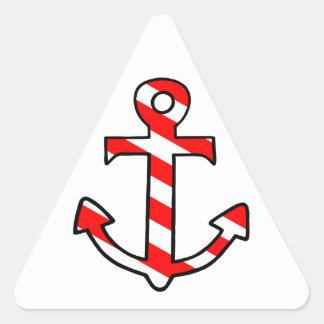 Anchor Triangle Sticker